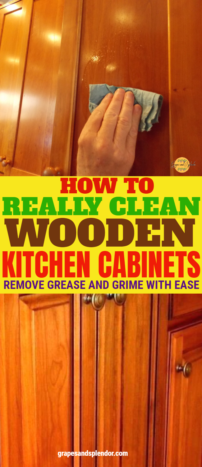 How to clean your kitchen cabinets without damaging the wood surface