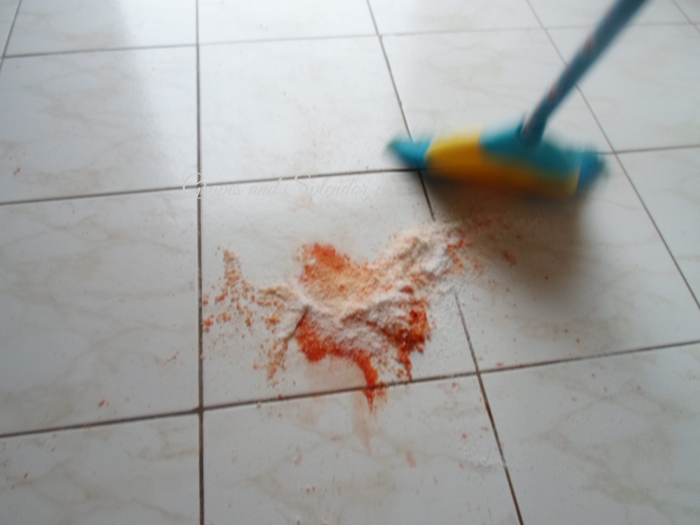 If there in an oil spill on the floor and you want to prevent loved ones from getting hurt, this if the best way to do it. Applying these methods will ensure the safety of your household from an oil spill.