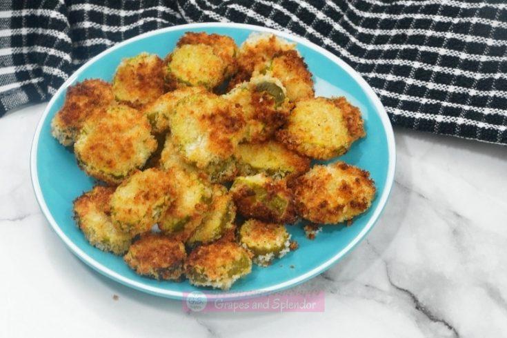 Easy Air Fryer Crunchy Fried Pickles