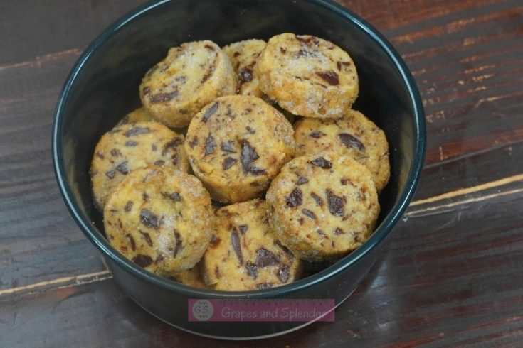 Salted Chocolate Chunk Shortbread Cookie