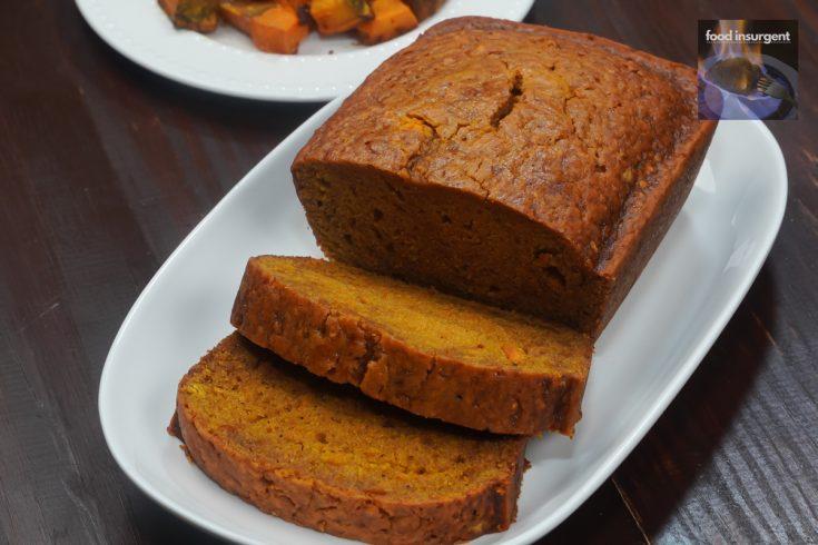 Roasted Pumpkin, Pumpkin Bread