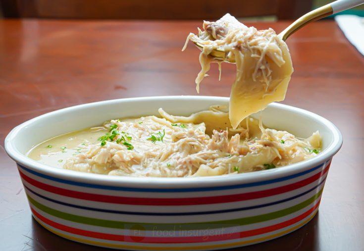 Grandma's Southern-Style Chicken n' Dumplings